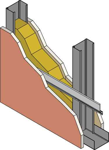 Resilient Channel Is Frequently Drawn On The Plans Upside Down And/or  Installed Upside Down In A Wall Assembly. When Installing Resilient Channel  It Is ...