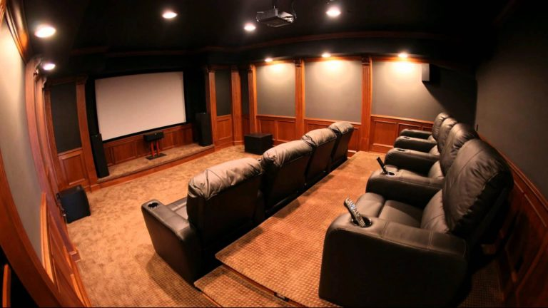 Soundproof Home Theater Room