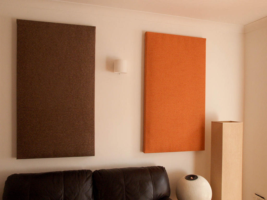 Decorative absorption panels common q a hush city soundproofing calgary 39 s top - Decorative acoustic wall panels ...