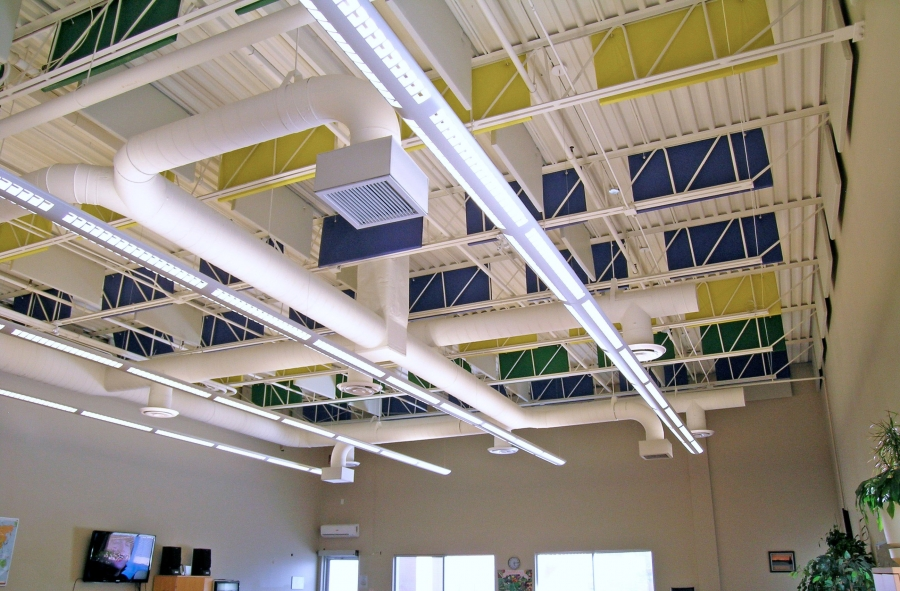 Pvc Acoustic Panel Baffle Sound Absorbing Panels Hush City