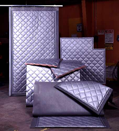 Quilted Absorption Panels Barriers Amp Curtains Hush City