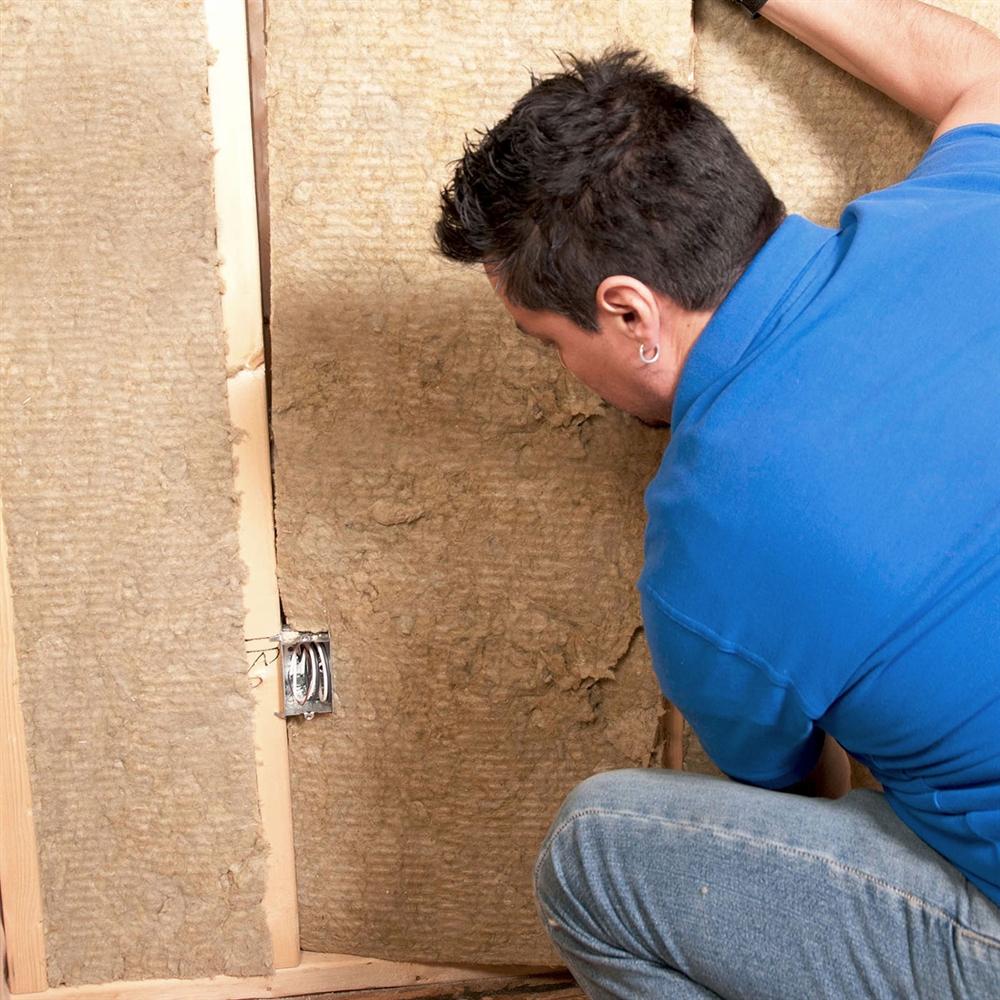 Rockwool safe n sound insulation hush city for Rockwool sound insulation