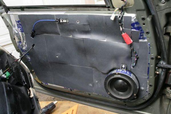 Mass Loaded Vinyl Car Doors Soundproofing