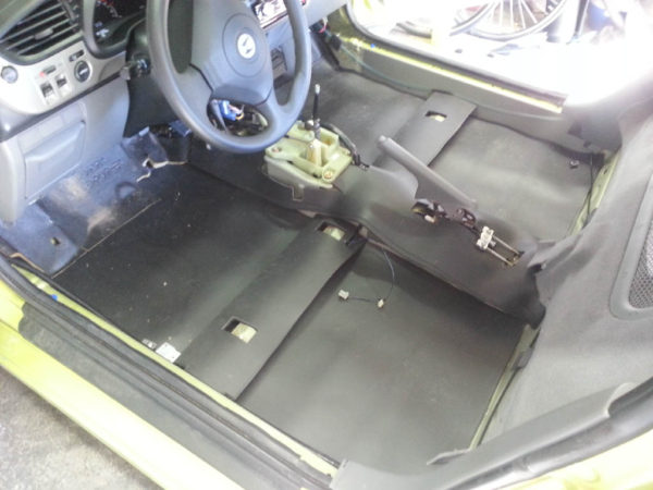 MLV Soundproof Car Floor
