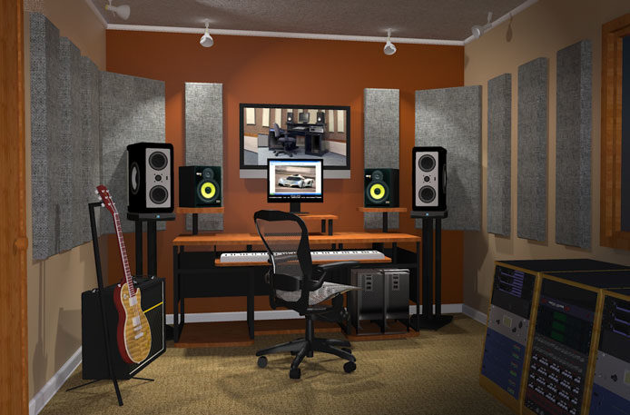 acoustic panel room kits hush city soundproofing calgary 39 s top soundproofing experts. Black Bedroom Furniture Sets. Home Design Ideas