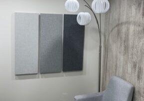3 grey panels